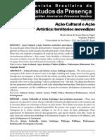PUPO - Ação Cultural e Ação Artistica