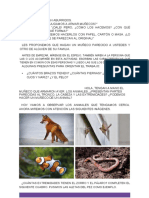 Ciencias naturales animales