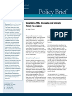 Weathering the Transatlantic Climate Policy Recession