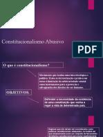 Constitucionalismo Abusivo-2