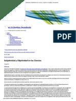 5 Subjetividad y Objetividad en las ciencias Nuñez