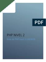GUIA PHP NIVEL 2