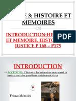 INTRODUCTION:HISTOIRE ET MEMOIRES
