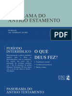 PANORAMA ANTIGO TESTAMENTO - EBD
