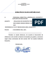 MEMORANDUM-MUL-06-DOCENTES POR ÁREAS Y ESPECIALIDADES-21