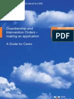 Adults with Incap - Guardianship - Mar 07