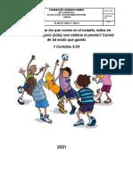 PLAN DE AREA EDUCACION FISICA 3°