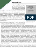 Filosofía de las matemáticas - Wikipedia, la enciclopedia libre