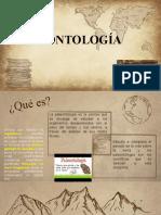 PALEONTOLOGIA. Definición y generalidades