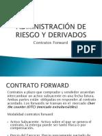 Contratos Forwards