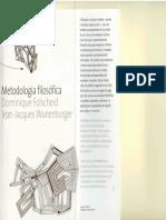Metodologia Filosófica - Dominique Folscheid e Jean-Jacqu-girado