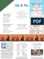 2011 Siena Symposium Brochure - Web