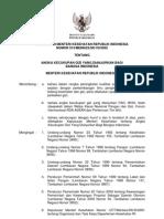 KMK No. 913 ttg Angka Kecukupan Gizi Yang Dianjurkan Bagi Bangsa Indonesia