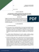 Sentencia No. 648-15-EP-20