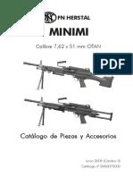 2.Ametralladora Minimi Cal. 7.62 Mm. t.r., Culata Fija.-1