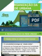 A reorganização da rede urbana