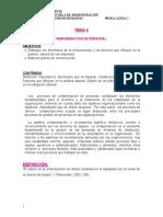 TEMA 8 REMUNERACION DE PERSONAL
