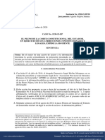 Sentencia No. 1530-15-EP-20