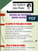 2021 03 12 Historia de La Clase Obrera Colombiana