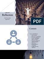 Future Leader's Self-Reflection