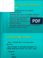 Urinary Catheterization