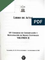 2002 Valladolid reintegración cerámica