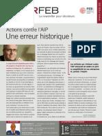 Actions contre l'AIP