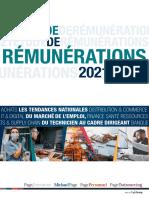 Etude de Remunerations Pagegroup 2021