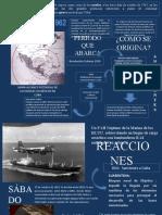 Infografía Guerra de los Misiles (Cuba)