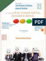 Audit Climat Social PPTF