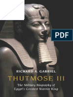Thutmose III_ the Military Biography of Egypt's Greatest Warrior King ( PDFDrive )