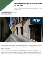 Face à Une Nouvelle Flambée Épidémique, La Majeure Partie de l'Italie Se Reconfine Dès Lundi