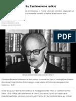 Nicolás Gómez Dávila, l'antimoderne radical