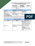 GM-LP-020-004 MONITORIZACION Y VIGILANCIA DEL ACCESO VASCULAR