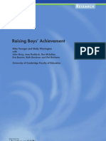 20316609-Raising-Boys-Achievement-Research-Report