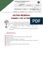 7_CULTURA RELIGIOSA_LLAMADOS A VIVIR EN FAMILIA