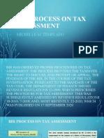 Bir Process on Tax Assessment