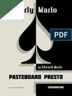 Ed Marlo - Pasteboard Presto