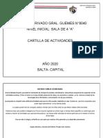 CARTILLA DE ACTIVIDADES DE PREJARDIN