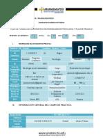 Plan Formativo de Practicas- Diagnostico Docx