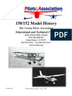Cessna 150/152 Aircraft History
