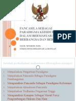 Paradigma pancasila