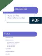 29-04-10 Fusiones y Adquisiciones (M&A)