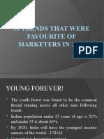 Top 10 Marketing Trends-2010