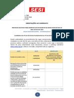 ORIENTACOES AO CANDIDATO - PROCESSO INTERMEDIARIO