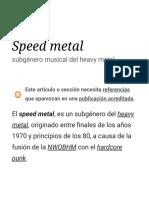 Speed Metal - Wikipedia, La Enciclopedia Libre