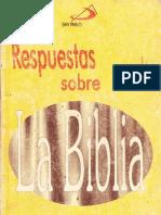 Arens Eduardo Respuestas Sobre La Biblia