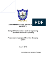 SPM Project Planning Proposal
