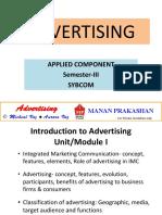Advertising E-notes