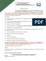 Planilla de Cofinanciamiento Del Fondo de Promoción a la Investigación Científica y Tecnológica